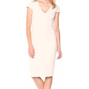 Donna Morgan Cap Sleeve Stretch Crepe Dress Size 6